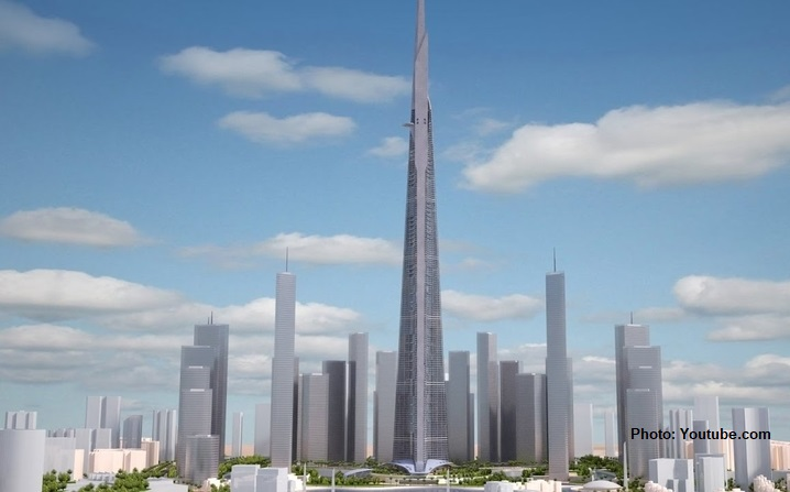 Jeddah Saudi Arabia Has Decided To Continue Building The Worlds Tallest Skyscraper In Jeddah The Jeddah Tower This Is Done Amid The Detention Of